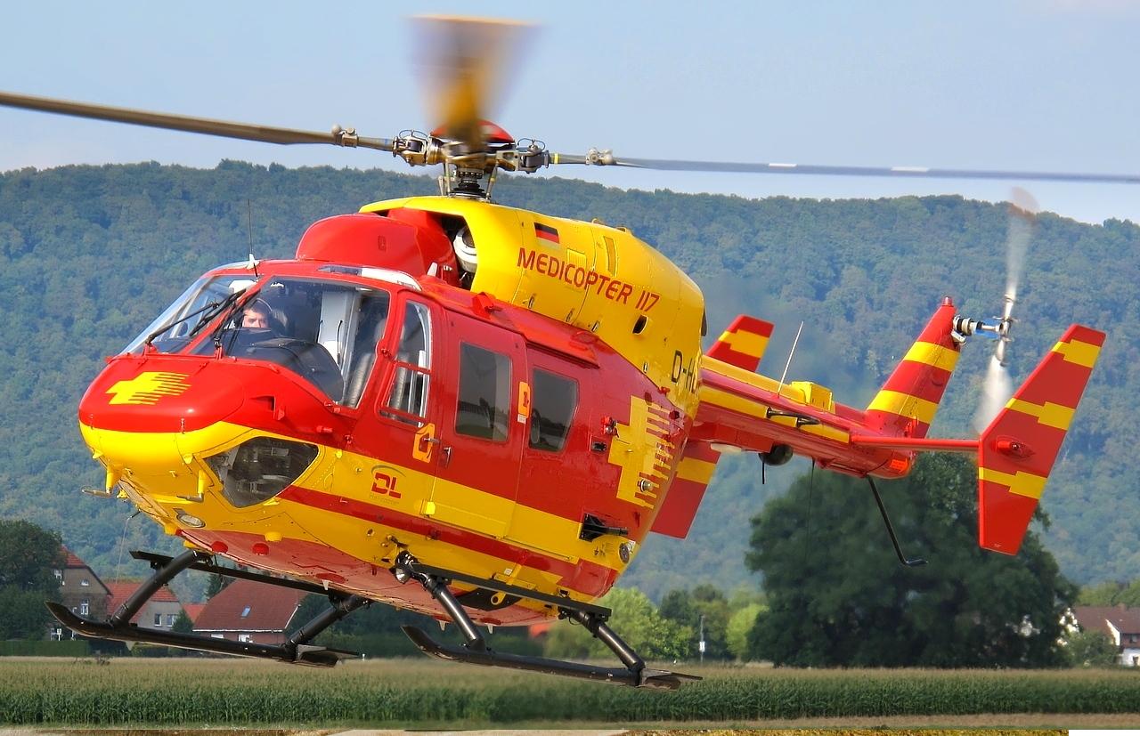 вертолет Bk-117