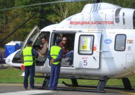 """Вертолет Ансат компании """"Русские Вертолетные Системы"""""""