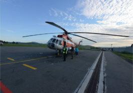 санитарная авиация Ми-8
