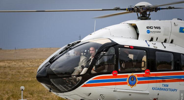 EC 145 Казахстан