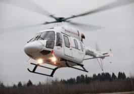 """Вертолет """"Ансат"""" компании """"Русские Вертолетные Системы"""""""