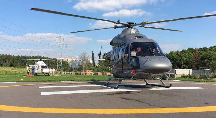 """Вертолеты """"Ансат"""" компании АО """"Русские Вертолетные Системы"""""""