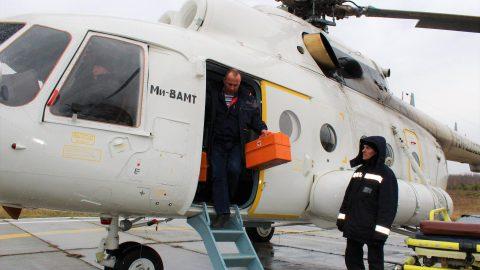 """Ми-8АМТ компании """"Русские Вертолетные Системы"""""""